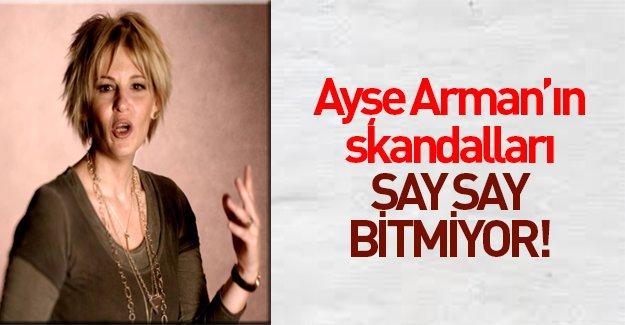 Skandallar Kraliçesi Hürriyet yazarı Ayşe Arman'dan inciler...