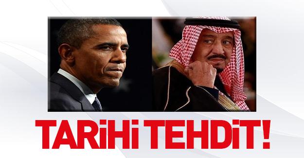 Suudi Arabistan ve ABD arasında flaş restleşme!