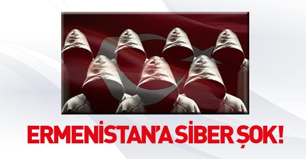 Turan Ordusu'ndan Ermenistan'a siber saldırı