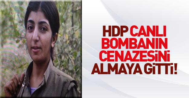 Ailesi PKK'lı canlı bombanın cesedini aldı