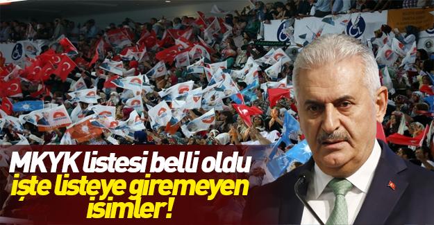 AK Parti MKYK'da büyük değişim!