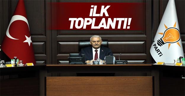 AK Parti MKYK toplandı