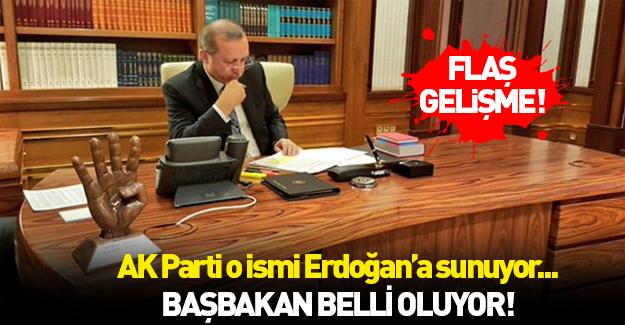 AK Parti yeni başbakan adayını Erdoğan'a sunacak