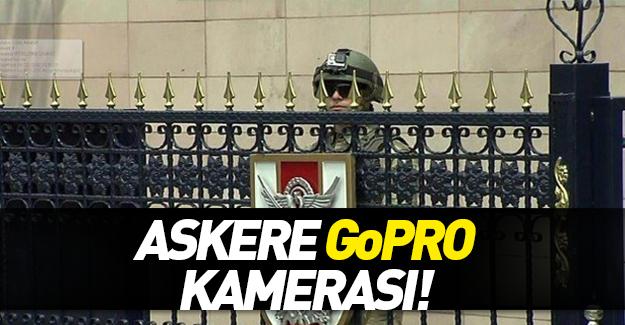 Ankara'da askere geniş açılı kask kamerası