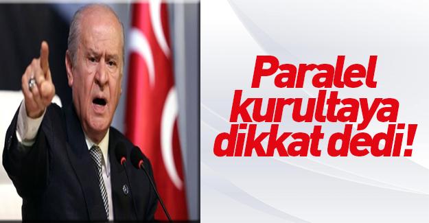 Bahçeli'den MHP teşkilatlarına uyarı