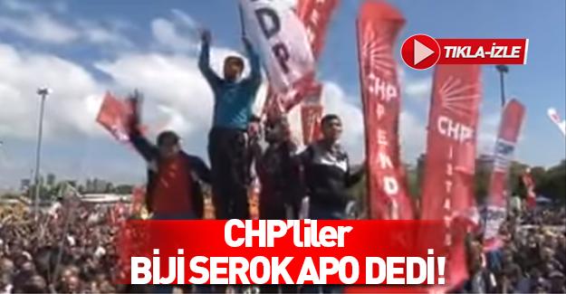 Bakırköy'de PKK CHP kardeşliği