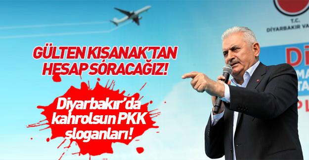 Başbakan Binali Yıldırım'ın Diyarbakır konuşması