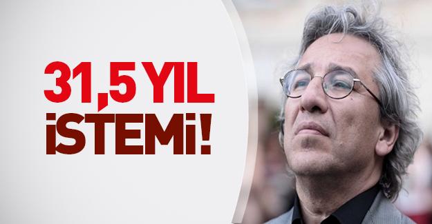Can Dündar için 31,5 yıla kadar hapis cezası talebi