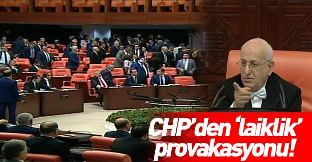 CHP milletvekillerinden provokasyon