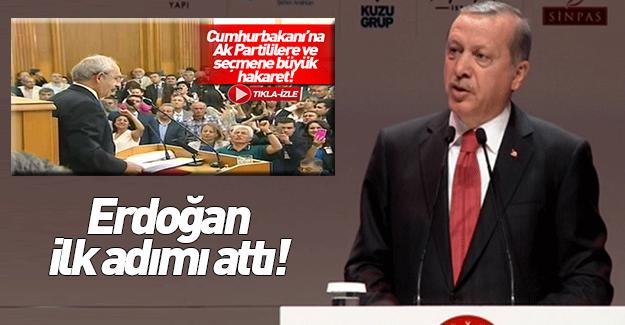 Cumhurbaşkanı Erdoğan'a küfür eden CHP'li edepsizlere suç duyurusu