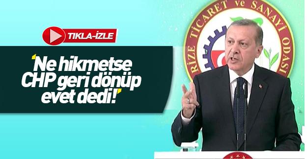 Cumhurbaşkanı Erdoğan'dan dokunulmazlık oylaması yorumu