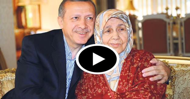 Cumhurbaşkanı Erdoğan'ın annesi için okuduğu şiir