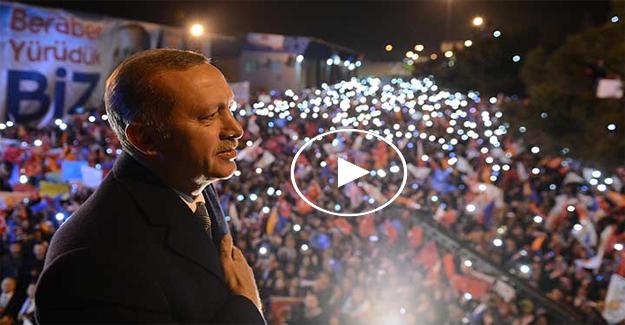 Cumhurbaşkanı Erdoğan İzmir'de vatandaşlarla buluştu