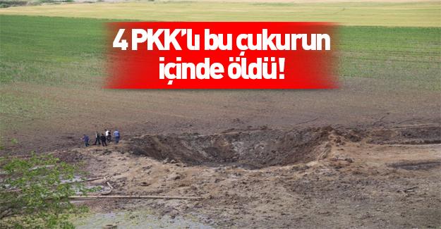 Diyarbakır'daki patlamadan sonra 5 metrelik çukur oluştu