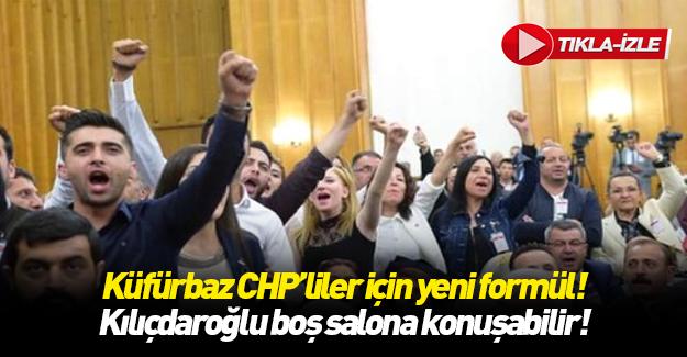 Erdoğan'dan CHP grup toplantısı için öneri