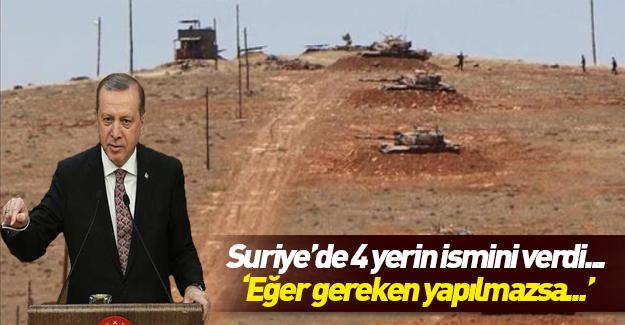Erdoğan: Gerekeni yapmak durumunda kalabiliriz