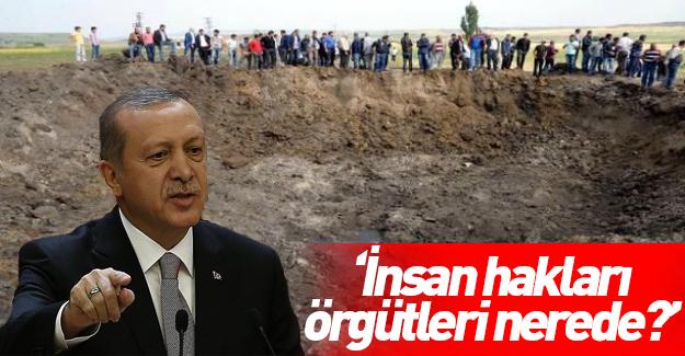 Erdoğan terör örgütüne destek veren ülkeleri uyardı