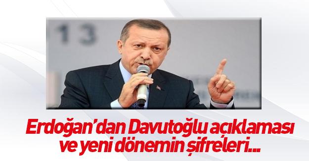 Erdoğan yeni dönemin şifrelerini verdi