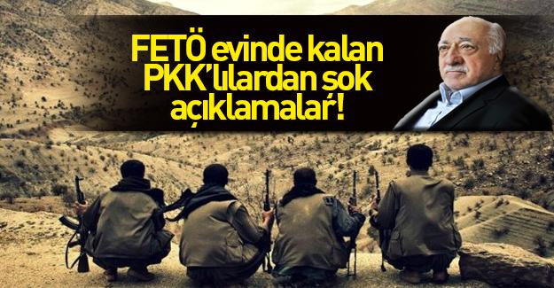 FETÖ evinde yakalanan PKK'lıdan şoke eden açıklama