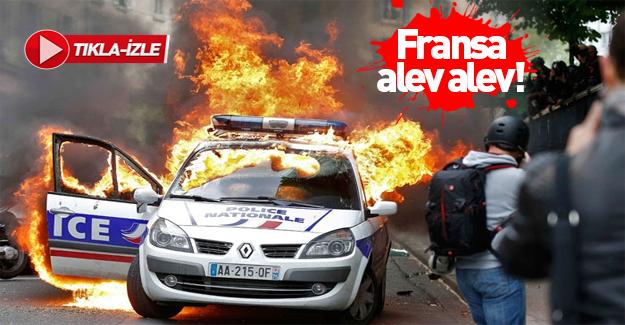 Fransa'da Gezi olayları: Paris yanıyor!