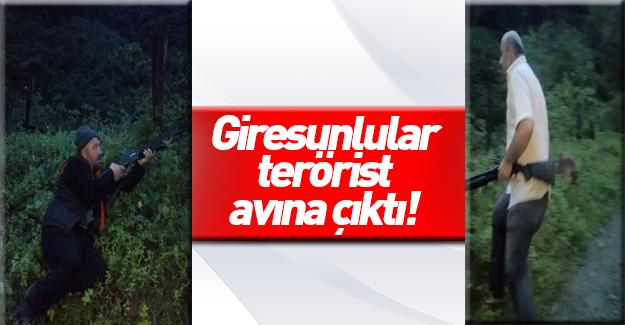 Halk silahlanıp dağ, taş PKK'lı aradı!