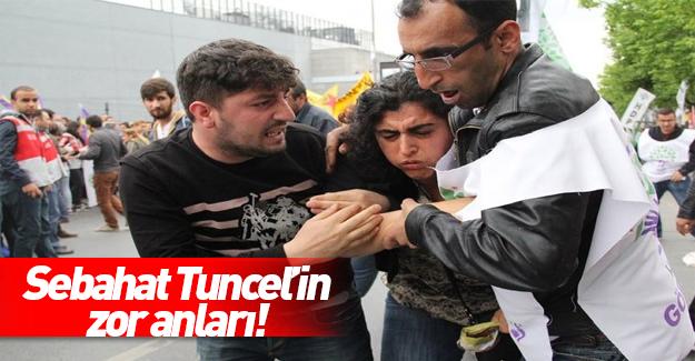 HDP'li Sebahat Tunceli'nin zor anları!