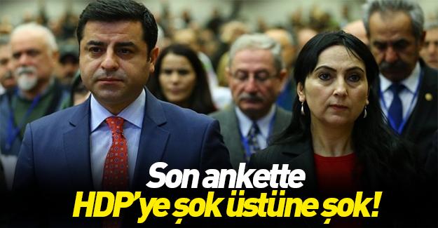 HDP'nin doğu oylarında büyük düşüş
