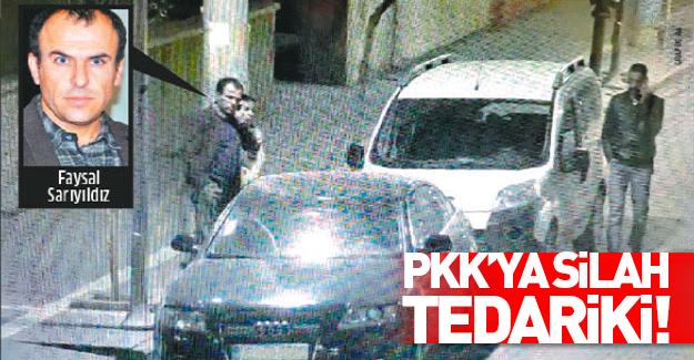 HDP'li Faysal Sarıyıldız'ın PKK'ya silah tedariki fezlekede
