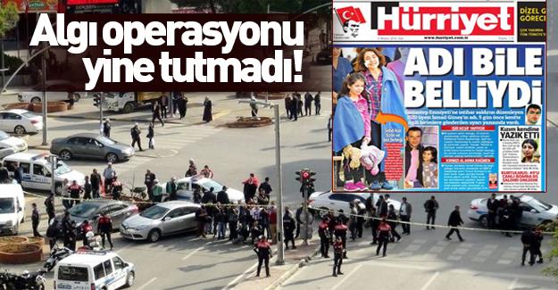 Hürriyet'in manşetine valilikten yalanlama