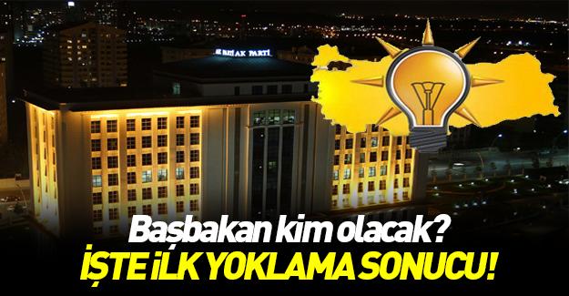 İşte AK Parti'de ilk temayül sonucu!