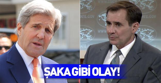 Kerry ve Kirby'den gazetecilere büyük ayıp!