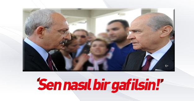 Kılıçdaroğlu'nun kanlı açıklamasına Bahçeli'den tepki
