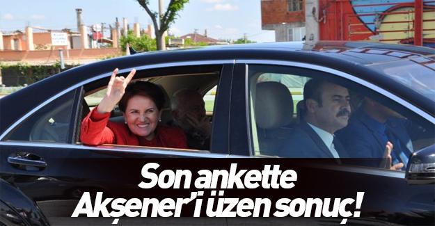 MHP anketinde Akşener'i üzecek sonuç!