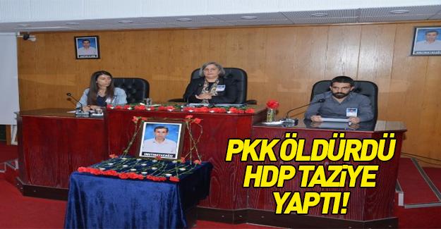 PKK öldürdü HDP andı