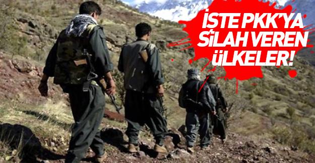 PKK'ya silah veren ülkeler