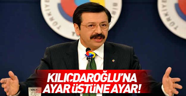 Rifat Hisarcıklıoğlu Kılıçdaroğlu'na yüklendi