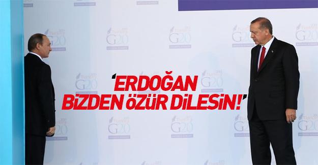 Rusya'dan küstah Erdoğan cevabı!