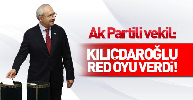 Salih Cora: Kemal Kılıçdaroğlu hayır oyu kullandı