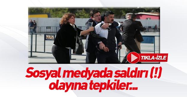 Sosyal medya'da Can Dündar'a saldırı tiyatrosuna tepkiler!