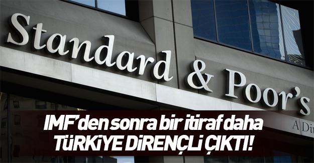 S&P: Türkiye bölgedeki istikrarsızlığa rağmen büyüyor