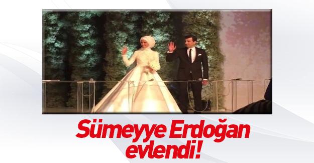 Sümeyye Erdoğan, Selçuk Bayraktar'la evlendi