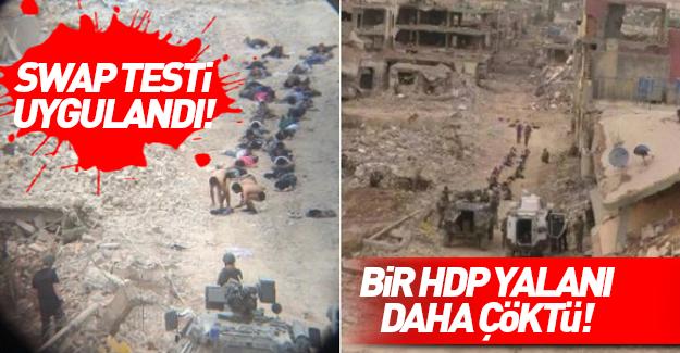 TSK Swap testi yaptı: Onlar sivil değil PKK'lı