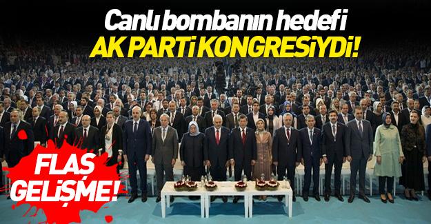 Vali: Canlı bombanın hedefi AK Parti Kongresi'ydi