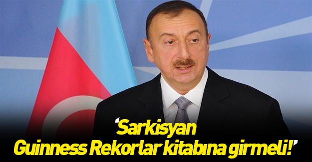 Aliyev'den flaş teklif!