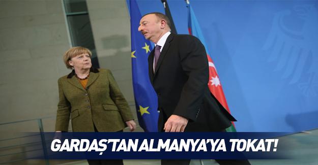 Almanya'ya Azerbaycan tokadı!