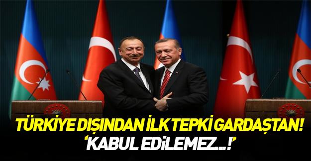 Almanya'ya Türkiye dışında ilk tepki!