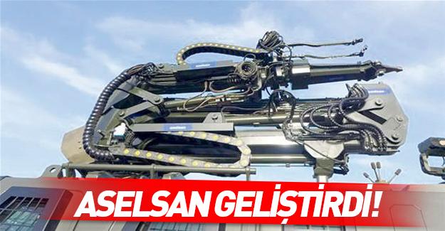 Aselsan PKK'nın EYP'lerini imha edecek robotu geliştirdi
