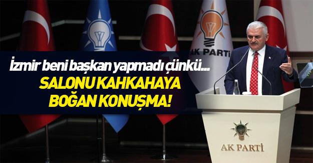 Başbakan : İzmir beni başkan yapmadı çünkü...