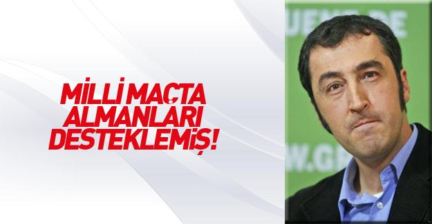 Cem Özdemir'in maskesi düştü