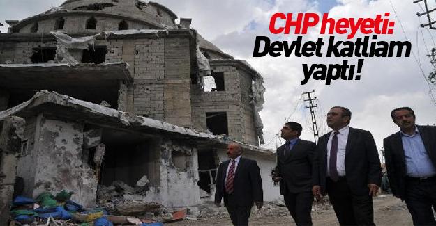 CHP heyeti Yüksekova'yı inceledi